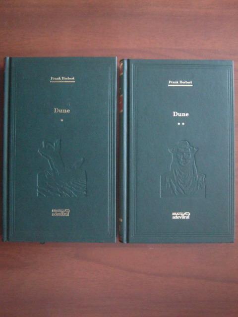 Anticariat: Frank Herbert - Dune (2 volume) (Adevarul)