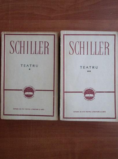 Anticariat: Friedrich Schiller - Teatru (2 volume)