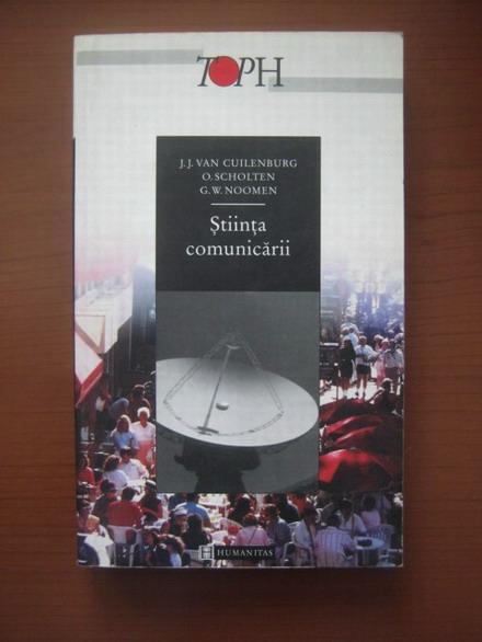 Anticariat: J.J. Van Cuilenburg - Stiinta comunicarii