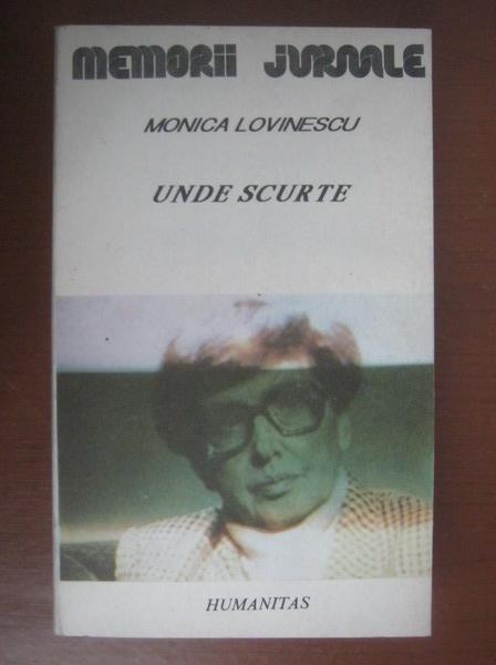 Anticariat: Monica Lovinescu - Unde scurte. Jurnal indirect