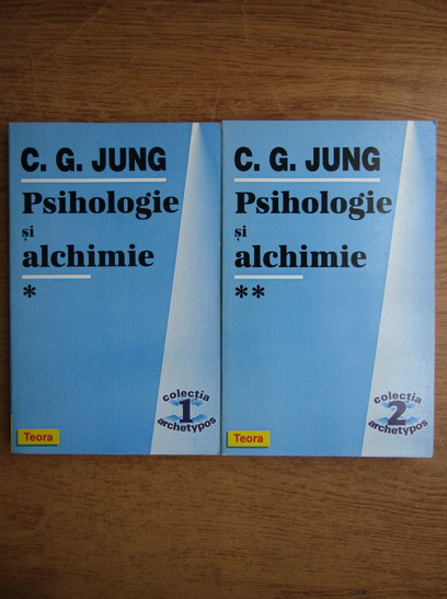 Anticariat: C. G. Jung - Psihologie si alchimie (2 volume)