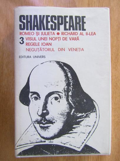 Anticariat: Shakespeare - Opere complete (volumul 3)
