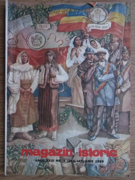 Anticariat: Magazin istoric, anul XXIII, nr. 1 (262), ianuarie 1989