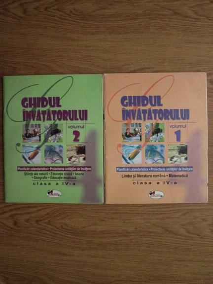 Anticariat:  Stefan Pacearca - Ghidul invatatorului (2 volume)