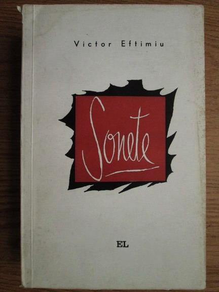Anticariat: Victor Eftimiu - Sonete