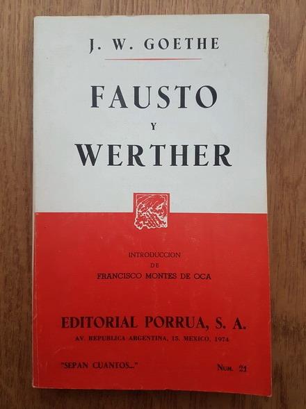 Anticariat: Goethe - Fausto y Werther