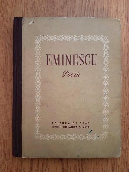 Anticariat: Mihai Eminescu - Poezii (1952)