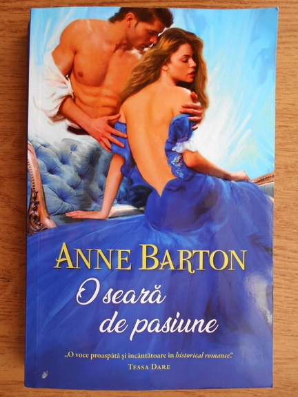 Anticariat: Anne Barton - O seara de pasiune