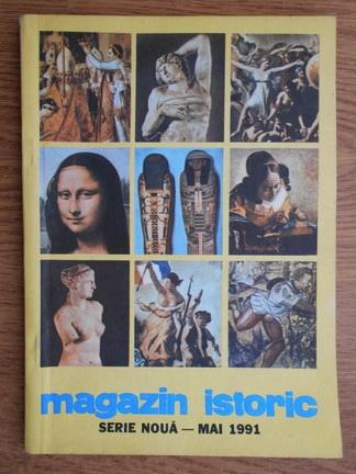 Anticariat: Magazin istoric anul XXV, nr. 5 (290), mai 1991