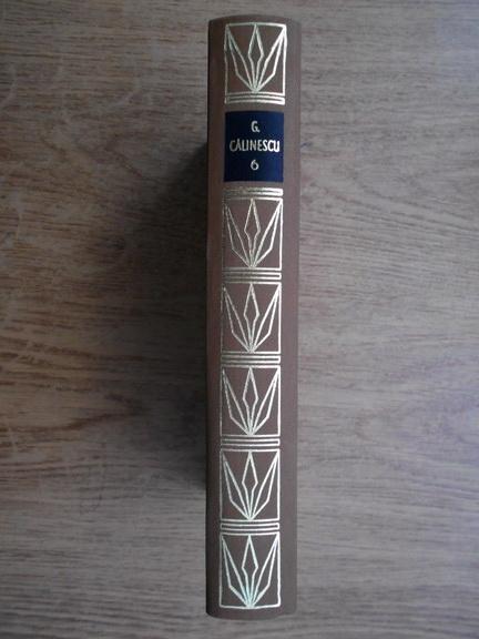 Anticariat: George Calinescu - Opere (volumul 6)