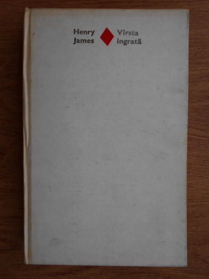 Anticariat: Henry James - Varsta ingrata