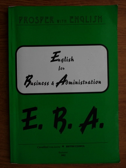 Anticariat: Jane Henry - English for Business and Administration