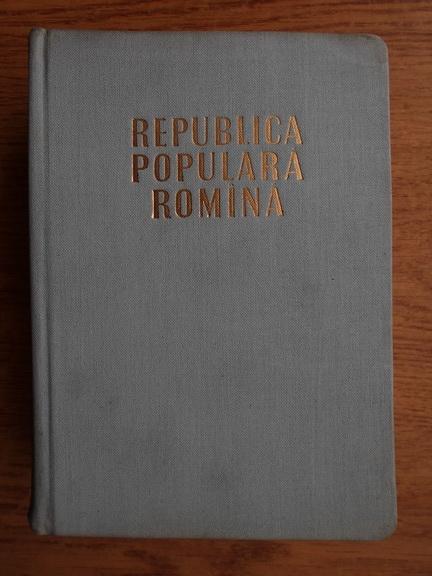 Anticariat: Republica Populara Romana