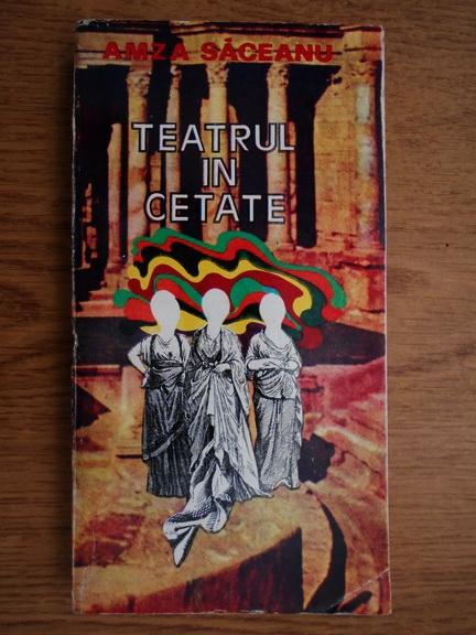 Anticariat: Amza Saceanu - Teatrul in cetate
