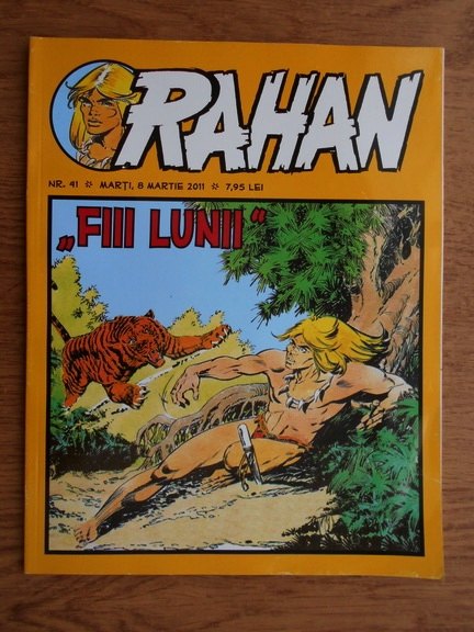 Anticariat: Rahan. Fiii Lunii (nr. 41, martie 2011)