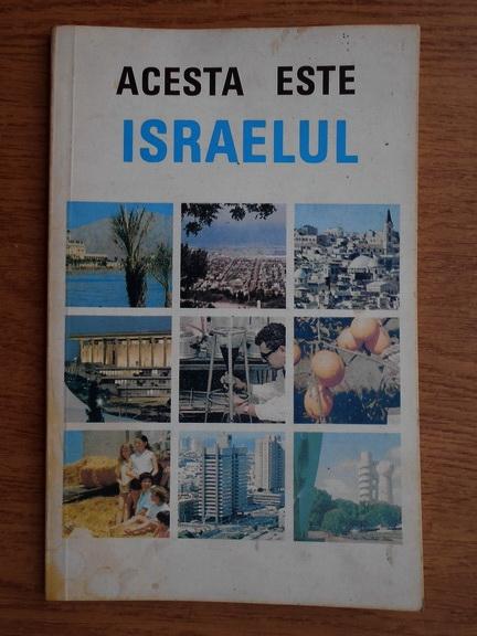 Anticariat: Acesta este Israelul