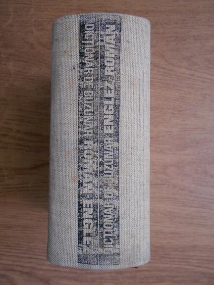 Anticariat: Andrei Bantas - Dictionar de buzunar englez-roman