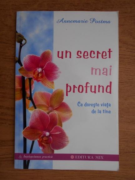 Anticariat: Annemarie Postma - Un secret mai profund