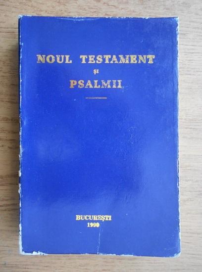 Anticariat: Noul Testament si Psalmii