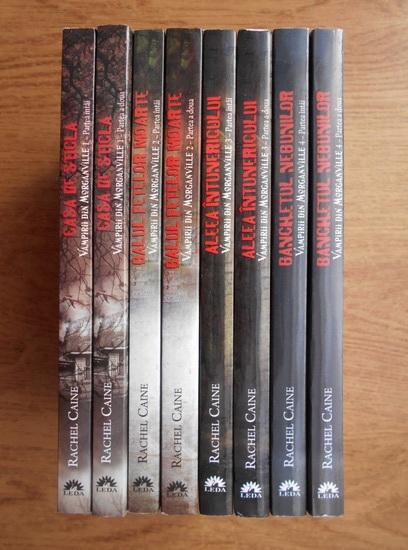 Anticariat: Rachel Caine - Vampirii din Morganville (8 volume)
