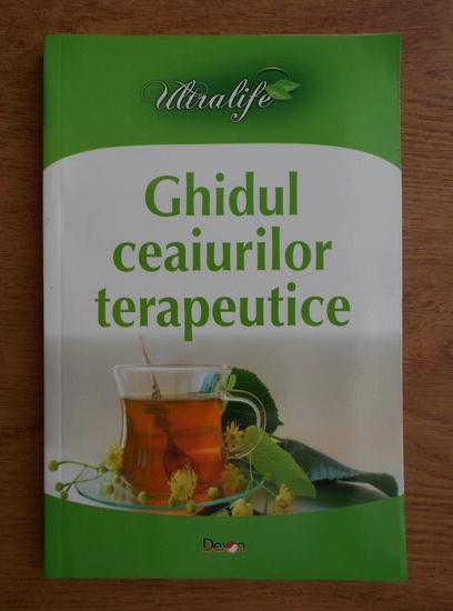 Anticariat: C. Antonov - Ghidul ceaiurilor terapeutice