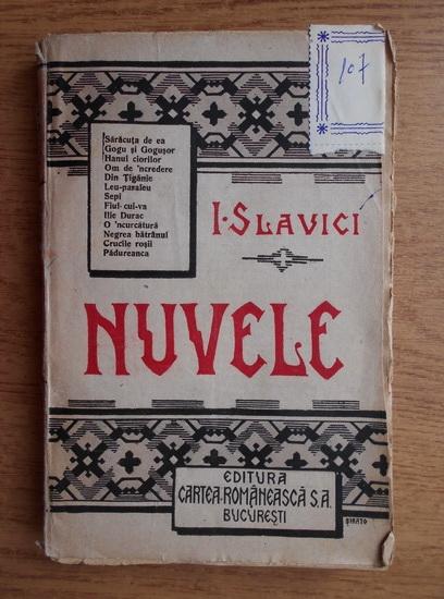 Anticariat: Ioan Slavici - Nuvele (volumul 3, 1930)