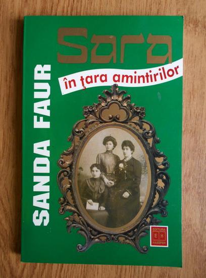 Anticariat: Sanda Faur - Sara in tara amintirilor