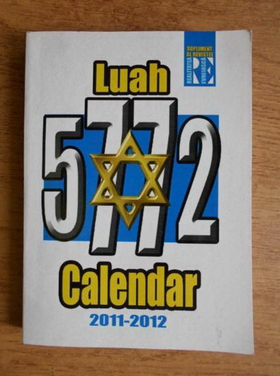 Anticariat: Calendar Luah 5772