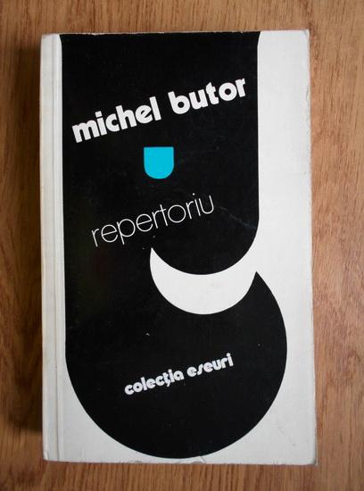 Anticariat: Michel Butor - Repertoriu