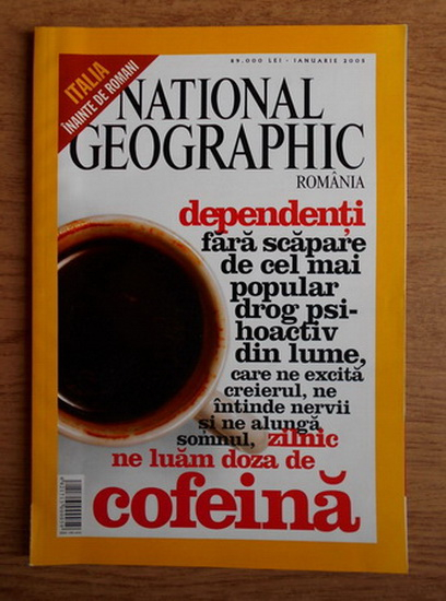 Anticariat: Revista National Geographic (ianuarie 2005)