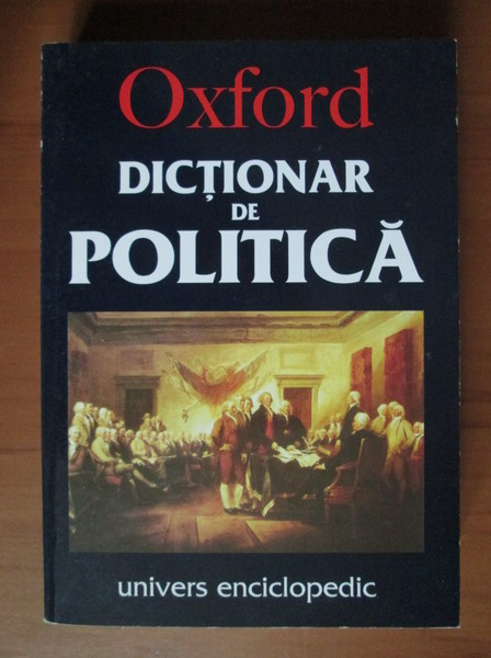Anticariat: Oxford. Dictionar de politica