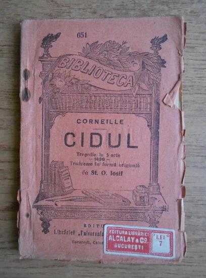 Anticariat: Corneille - Cidul