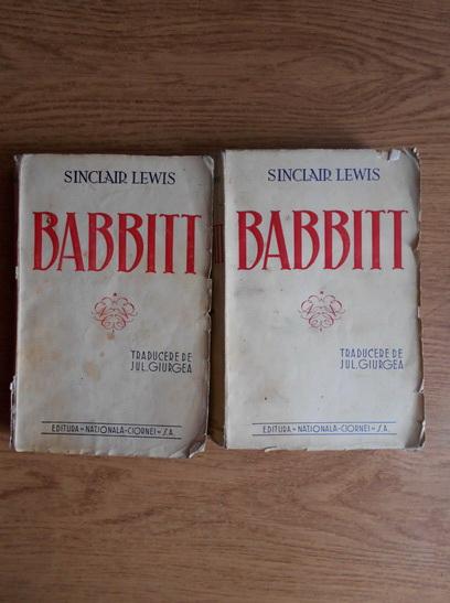 Anticariat: Sinclair Lewis - Babbitt (2 volume)