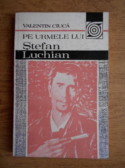 Anticariat: Valentin Ciuca - Pe urmele lui Stefan Luchian