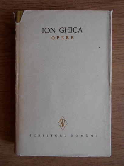 Anticariat: Ion Ghica - Opere (volumul 3)