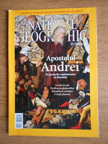 Anticariat: Apostolul Andrei. Inceputurile crestinismului in Romania (revista National Geographic, nr. 116, decembrie 2012)