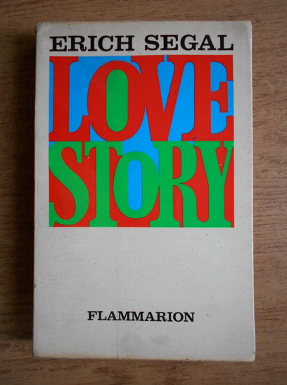 Anticariat: Erich Segal - Love story