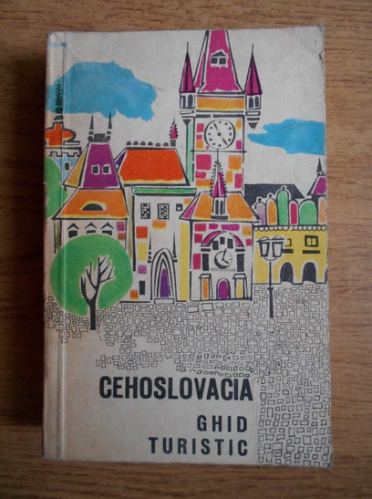 Anticariat: J. Chysky - Cehoslovacia. Ghid turistic