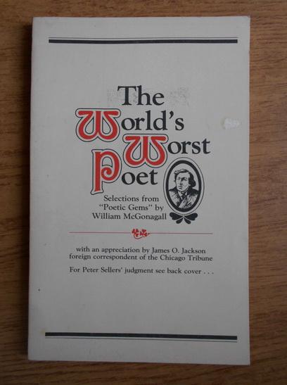 Anticariat: The world's worst poet
