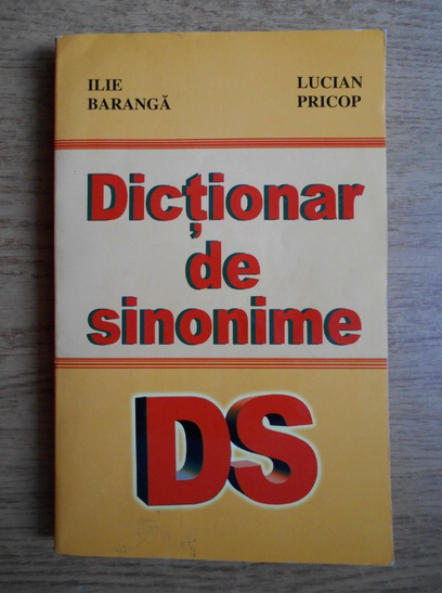 Anticariat: Ilie Baranga - Dictionar de sinonime