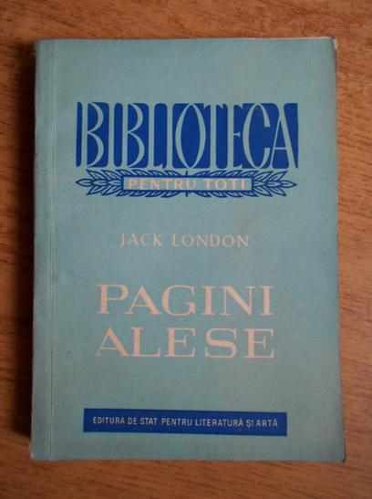 Anticariat: Jack London - Pagini alese