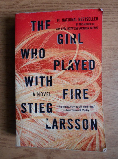 Anticariat: Stieg Larsson - The girl who played with fire