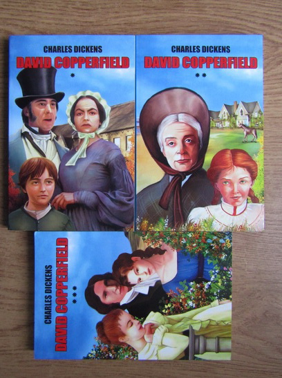 Anticariat: Charles Dickens - David Copperfield (3 volume)