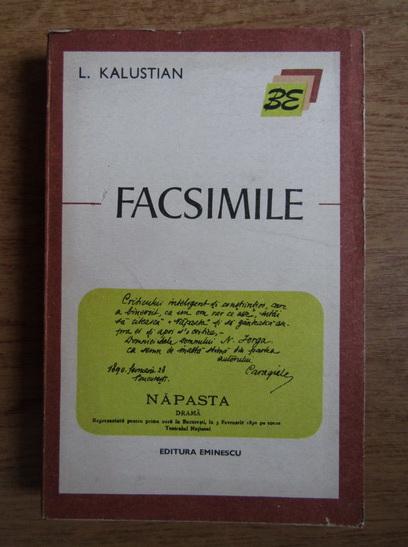Anticariat: L. Kalustian - Facsimile