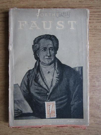 Anticariat: Goethe - Faust (1932)