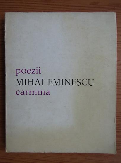 Anticariat: Mihai Eminescu - Poezii (editie bilingva romana latina)