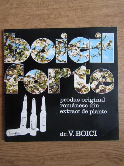 Anticariat: D. Mateciuc - Boicil Forte