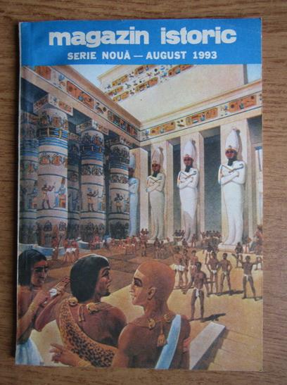 Anticariat: Magazin istoric, anul XXVII, nr. 8 (317), august 1993