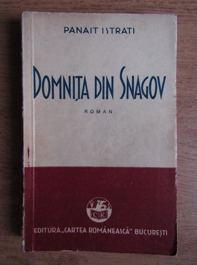 Anticariat: Panait Istrati - Domnita din Snagov (1937)