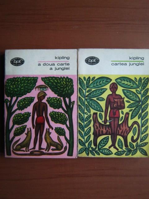 Anticariat: Rudyard Kipling - Cartea junglei. A doua carte a junglei (2 volume)